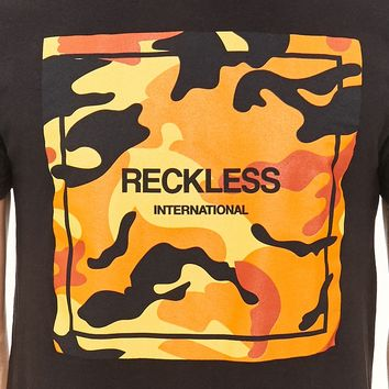 Young & Reckless Camo Graphic Tee