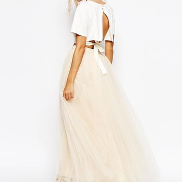 Little Mistress Maxi Tulle Skirt