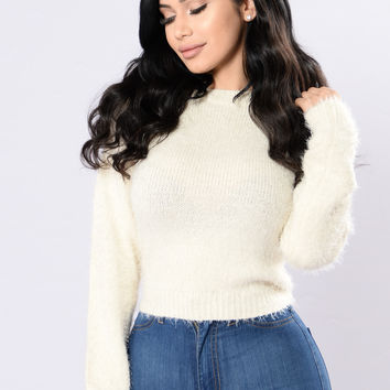 Softest Touch Sweater - White