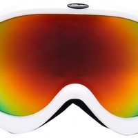 Agate Shiny White - Men's and Women's Ski Goggles | Polisi Ski Goggles