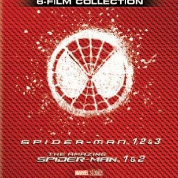 Spiderman Complete Collection 1-6 DVD