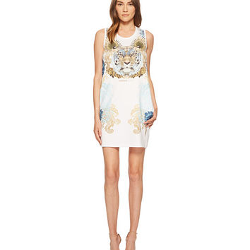 Versace Jeans Tiger Sleeveless Dress