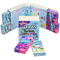 Wonka Nerds Candy 6.6-Ounce Fantastical Fun Book
