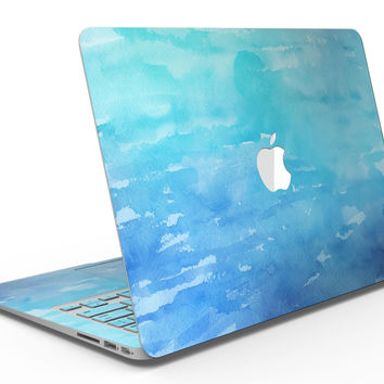Blue 082 Absorbed Watercolor Texture - MacBook Air Skin Kit