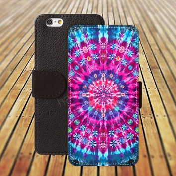 iphone 6 case hot pink Mandala colorful iphone 4/4s iphone 5 5C 5S iPhone 6 Plus iphone 5C Wallet Case,iPhone 5 Case,Cover,Cases colorful pattern L519