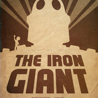 Choose Who You Are - Iron Giant Poster Art Print by Edward J. Moran II | Society6