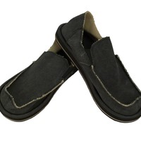 Sanuk Vagabond Charcoal Slip-On Loafers