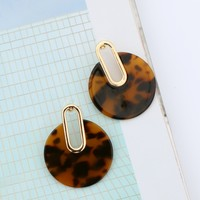 Dylan Skye Natural Circle Earring