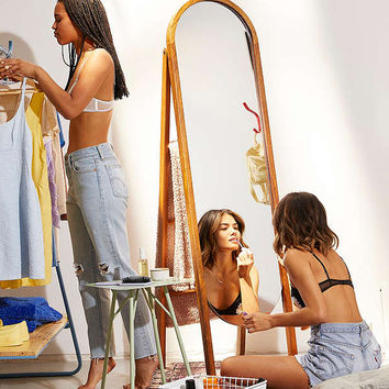 Woodlyn Standing Storage Mirror   Urban Outfitters
