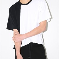 ratio t-shirt black/white