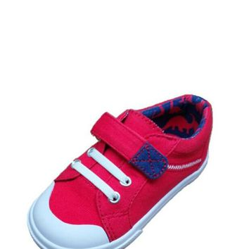 Toddler Boys' Casual Cap-Toe Shoes
