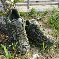 Comfortable Camouflage Running Sports Shoes Sneakers