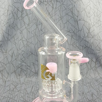 The Professional Sidecar Oil Rig in Pink by Diamond Glassworks