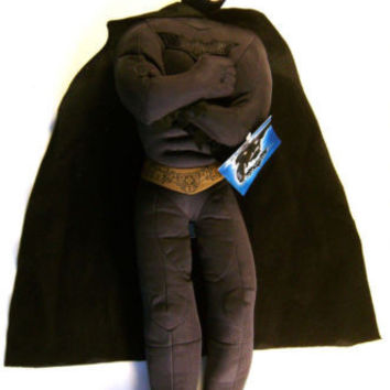 "The Dark Knight Rises Plush Batman 19"" Toy Factory Stuffed Officially Licensed"