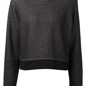 T By Alexander Wang cropped sweatshirt