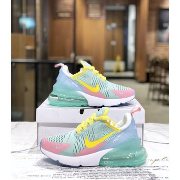 NIKE AIR MAX 270 2019 new women's personality wild half palm sneakers