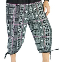 Bjelly's Traditional Jogger 3/4 Capri Cotton Pants