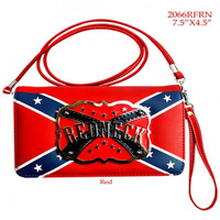 Rebel Flag Redneck Wallet