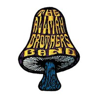 Allman Brothers Men's Embroidered Patch Black