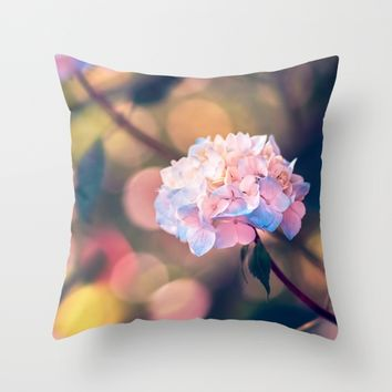 Breathe Throw Pillow by Kristopher Winter