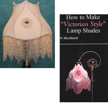 How To Make Lamp Shades DVD with Victorian Lampshade Kit with long beaded fringe