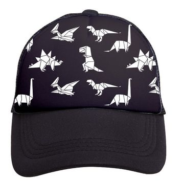Dinosaurs Trucker Hat (Toddler) by Tiny Trucker Co.