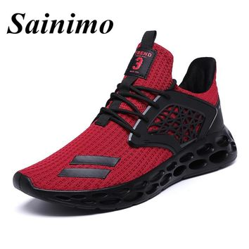 Men Running Shoes Outdoor Walking Jogging Sneakers for Men New Brand Men's Sports Shoes Athletic Trainers Zapatillas Hombre