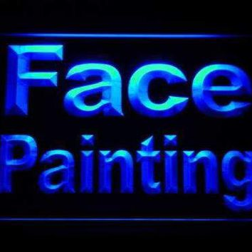 Face Painting LED Neon Light Sign
