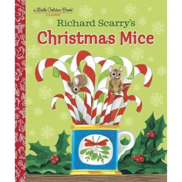 Richard Scarry's Christmas Mice - Walmart.com
