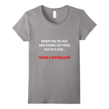Funny Pro-Democrat Anti-Republican Political T-shirt