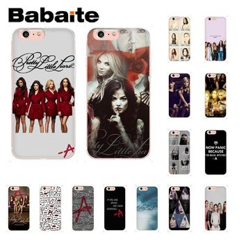 Babaite Pretty Little Liars Lucy DIY Luxury Phone Accessories Case for iPhone 8 7 6 6S Plus X XS MAX 5 5S SE XR 10 Cases