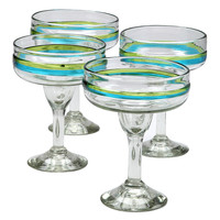 Aqua Cabo Margarita Glass - Set of Four | zulily