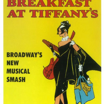 Breakfast at Tiffanys 14x22 Broadway Show Poster (1966)