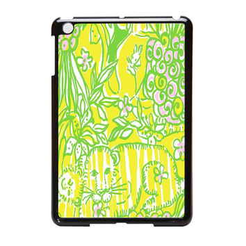 Lilly Pulitzer  Crazy Cat House iPad Mini Case