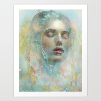 Beyond your dreams Art Print by Joe Ganech