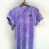 DASH DYE TAKK TEE/ PURPLE RAIN