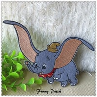 Disney Dumbo Iron on Patch 69-H