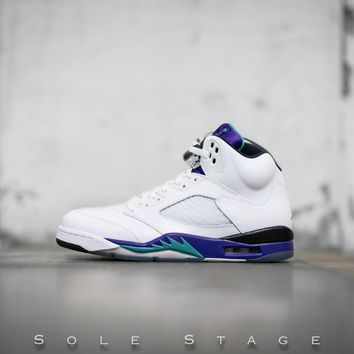 spbest Air Jordan 5 Retro Grape