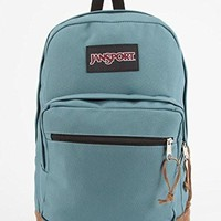 JanSport Classic Right Pack School BACKPACK Solid Color Frost Teal