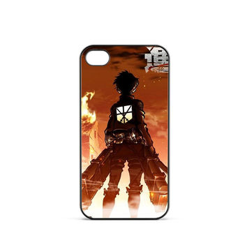 Attack on Titan Eren Back iPhone 4 / 4s Case