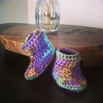 """The """"Tinker Bell"""" Baby Booties"""