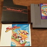 SALE Free shipping- Disneys Duck Tales - Nintendo NES system console game with manual
