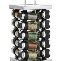 Martha Stewart Collection Square Stainless Steel Spice Rack, 21-Piece Set, Only at Macy's, - Kitchen Gadgets - Kitchen - Macy's