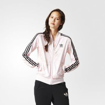 adidas Pastel Rose Track Jacket - Multicolor | adidas US