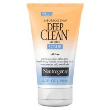 Neutrogena® Deep Clean Gentle Face Scrub With Salicylic Acid - 4.2 fl oz
