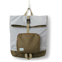 Olive Multi Jersey StandUp Backpack