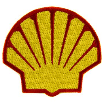 Shell Gas Station Patch Iron on Applique Alternative Grunge Clothing