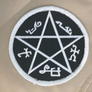 Supernatural Devil's Trap Patch (FREE SHIPPING)