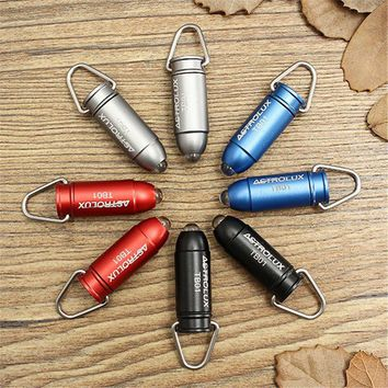 Astrolux TB-01 Bullet Aluminium Alloy 45LM Mini LED Keychain Flashlight led light mini camping key chain torch+3 x LR41 battery