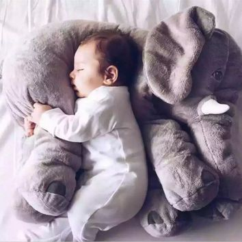 The latest baby soothing elephant pillow